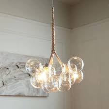 bubble chandeliers quintessence pelle chandelier replica