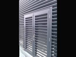 exterior aluminum louvered doors. ohl-door louvred doors exterior aluminum louvered m