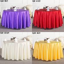 new table cloth round overlays tablecloths spandex tablecloth wedding high quality round waterproof colors red yellow ivory wine purple cotton tablecloth