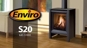 Freestanding Gas Stove S20 Freestanding Gas Stove Burn Example Youtube