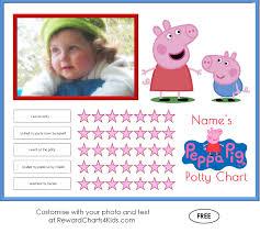 peppa pig potty training charts potty training middot customise middot sticker chart middot customise middot peppa pig printable