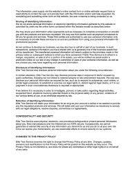 Privacy Policy - Elite Tree Service Portland, Oregon