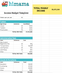 How To Manage Your Child Care Center Budget With Free Template