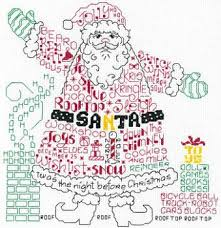 Imaginating Cross Stitch Charts Imaginating Lets Find Santa 3196