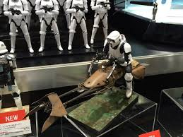 hobby kits 1 12 scale. Bandai Star Wars Model Kit Speeder Bike Biker Scout Final Hobby Kits 1 12 Scale A