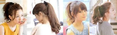 お花見デートのおすすめ髪型アレンジロング編画像あり