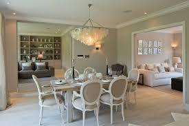 capiz chandelier dining room shabby chic with beige dining chairs beige wall capiz chandelier