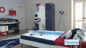 Nautica Bedroom Furniture Newjoy Nautica Childrens Single Bed With Shark Fin Headboard