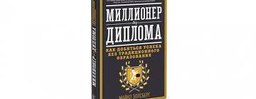 Книга Миллионер без диплома Майкл Эллсберг Обзор книги Миллионер без диплома Майкл Эллсберг