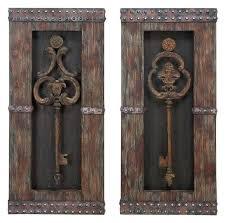 2 piece wall decor key 2 piece wall decor set traditional metal art 2 piece metal 2 piece wall decor