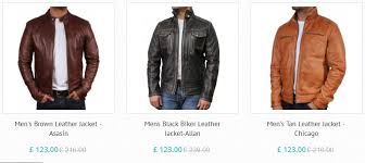 ping sites are famous for their quality and variety and therefore it is providing a wide variety of swish leather men s jackets for all weather types