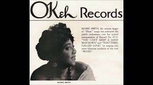 """Mamie Smith & Her Jazz Hounds """"Crazy Blues"""" LYRICS (song by Perry Bradford)  on Okeh 4169 - YouTube"""