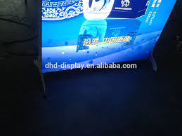 Free Standing Display Boards For Trade Shows Exhibition Trade Show Light Box Display Advertisement Board Double 82