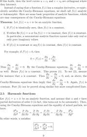 here are some basic properties of ytic functions which are easy consequences of the cauchy