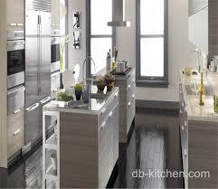 modern custom made melamine small kitchen cabinet design