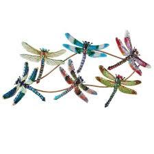 3d dragonfly metal wall art sculpture