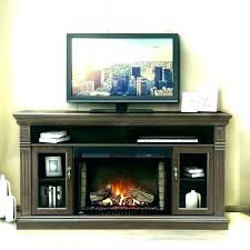 adjustable thermostat fireplace tv stands