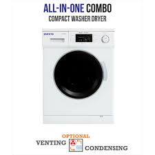 compact washer dryer combo. Simple Dryer Deco Allinone 1200 RPM Compact Combo Washer Dryer With Optional  Condensing Intended T