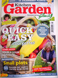 Kitchen Gardener Magazine Kellis Northern Ireland Garden April 2014