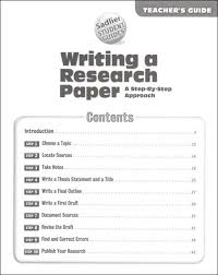 steps to write a basic research paper SlidePlayer