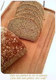 pain sans gluten aux farines de riz plet et sarrasin