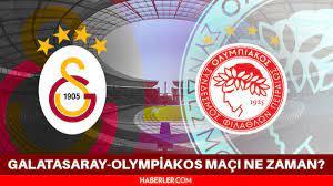 Galatasaray-Olympiakos maçı ne zaman, hangi kanalda? - Haberler