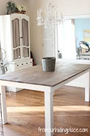 rustic kitchen table with bench. Rustic Farmhouse Table Kitchen With Bench