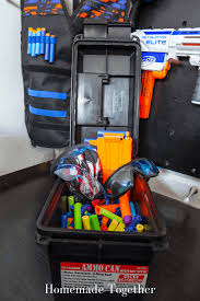 I have a super quick, but super effective organizing project today! A Step By Step Guide On How To Build A Nerf Gun Wall Homemade Together