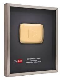 YouTube Is Rewarding Its Most Popular Users With Gold Gold