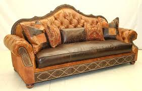 leather sofa with wood trim brown leather tufted couch with wooden trim also upholstery cushions and
