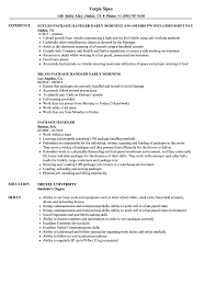 Best Baggage Handler Resume Template Pictures Inspiration