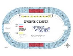 Stock Show Rodeo Seating Chart Ticket Information National Western Stock Show And Rodeo