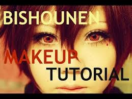 my first makeup video i hope this was helpful to those who are looking to find a makeup tutorial on how to look bishounen for their cosplay or other