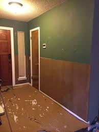 note since my walls are not level the hardboard does not 100 sit flush to my door jams and in the corners don t worry about this