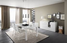 Modern White Dining Room - Dining room sets with colored chairs