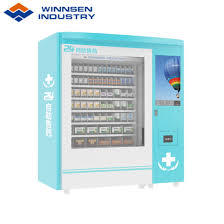 Medical Vending Machine Beauteous China SelfService Pharmacy Vending Kiosk With Advertising Screen