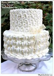 Textured Icing Wedding Cake Conception White Wedding Cake