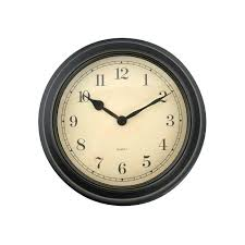 retro chic the threshold budget friendly reion wall clock could complement any antique inspired room or introduce an apothecary sensibility to a