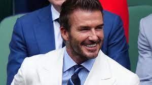 David Beckham ist das neue Gesicht der Fußball-Weltmeisterschaft 2022 in  Katar