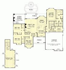 gorgeous home plans with kitchen in front of house pretentious home kitchen in front of
