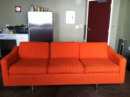 Orange Couch Living Room Orange Sofa 58 With Orange Sofa Baijou With Living Room Decor Also