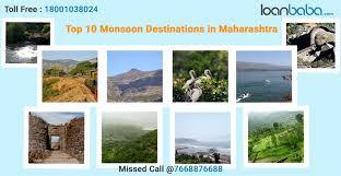 monsoon destinations near mumbai and pune