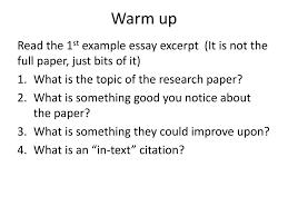 Science Essay Mla Format Ppt Download