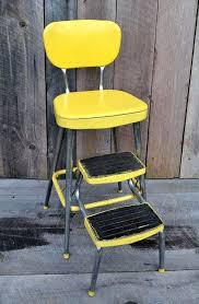 image of retro kitchen step stool chair cosco ideas
