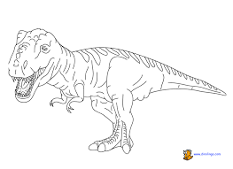 Small Picture Dinosaur Coloring Page Free Dinosaur Coloring Pages Pictures