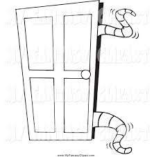 open door clipart black and white. The Best Door Clipart U Picture For Open Double Trends And French Style Black White O