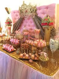 Princess theme baby shower