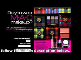 you can get a mac cosmetics free sles