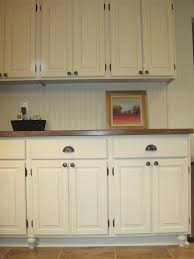 Kitchen Cabinets Beadboard Leigh Updates Her Oak Kitchen Cabinets With Caromal Paints