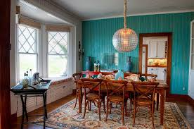 Beautiful Dining Room Paint Ideas With Accent Wall A Different Approach To The Intended Decor